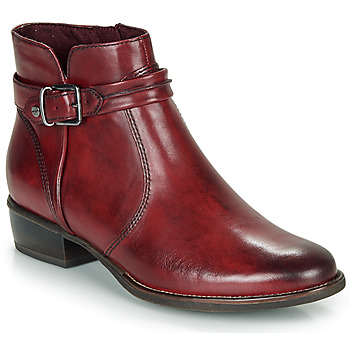 Shoes Women Mid boots Tamaris MARLY Bordeau