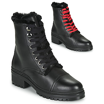 Shoes Women Mid boots Unisa IRACHE Black