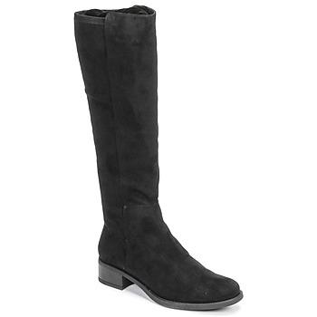 Shoes Women High boots Unisa ELIZA Black