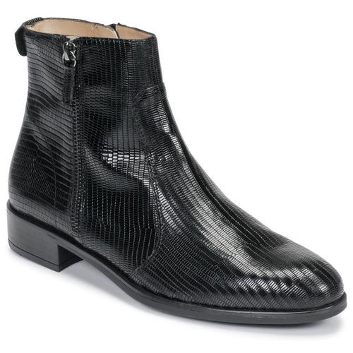 Shoes Women Mid boots Unisa BRAS Black