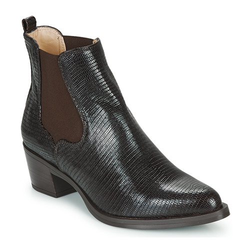 Shoes Women Ankle boots Unisa GREYSON Brown