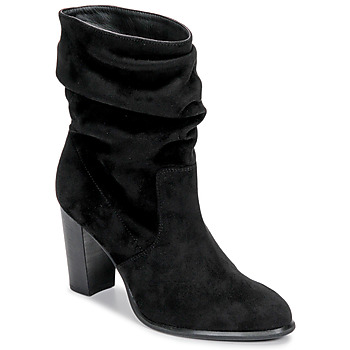 Shoes Women Ankle boots Unisa ULANO Black