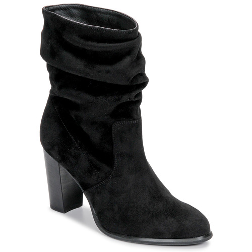 Shoes Women Ankle boots Unisa ULANO Black