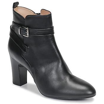 Shoes Women Ankle boots Unisa UMBRIA Black