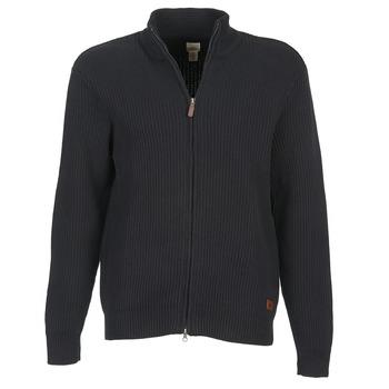 Clothing Men Jackets / Cardigans Dockers NEW FULL ZIP Black