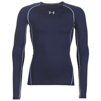 Clothing Men Long sleeved tee-shirts Under Armour HEATGEAR ARMOUR LS COMPRESSION Marine