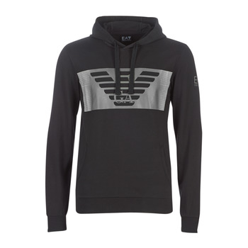 Clothing Men sweaters Emporio Armani EA7 6GPM56-PJ05Z-1202 Black