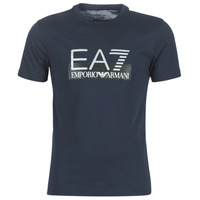 Clothing Men short-sleeved t-shirts Emporio Armani EA7 GPT81-PJM9Z-1554 Marine