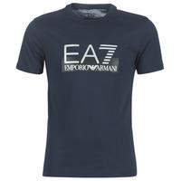 Clothing Men Short-sleeved t-shirts Emporio Armani EA7 GPT81-PJM9Z-1554 Marine
