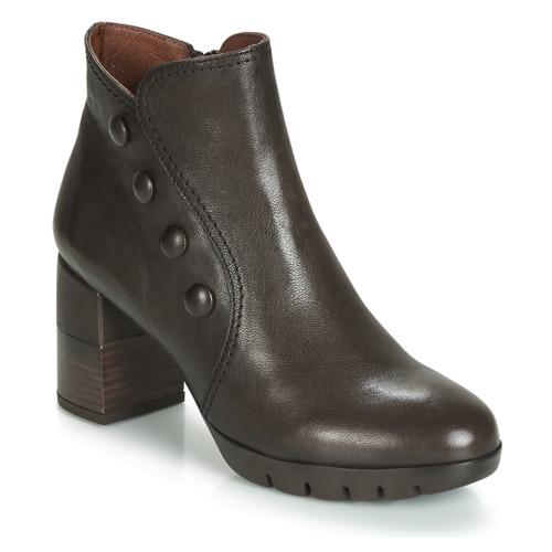 Shoes Women Ankle boots Hispanitas ARIEL Cognac