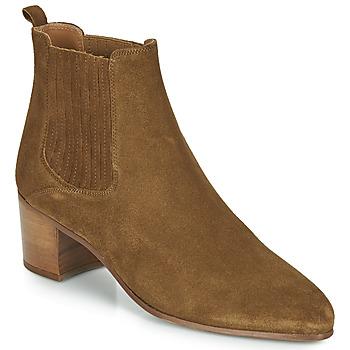 9a8a5fdc897 Shoes Women Ankle boots Jonak DEBINA Cognac