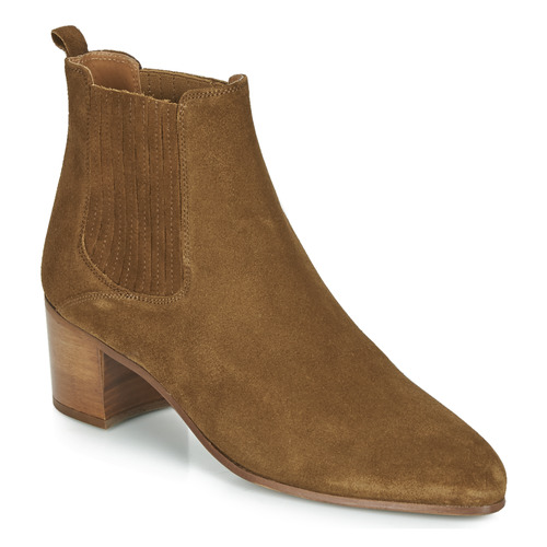 Shoes Women Ankle boots Jonak DEBINA Cognac