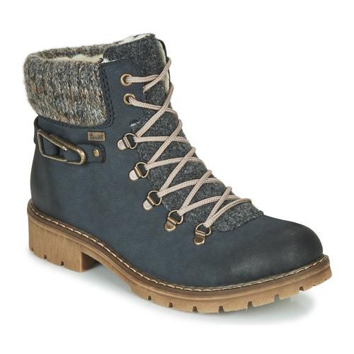Shoes Women Mid boots Rieker Y9131-16 Blue