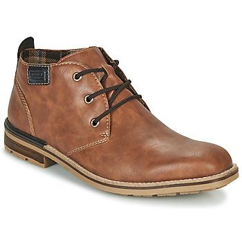 Shoes Men Mid boots Rieker BELAM Brown