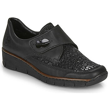 Shoes Women Low top trainers Rieker 537C0-02 Black