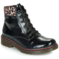 Shoes Women Mid boots Rieker Y8212-03 Black