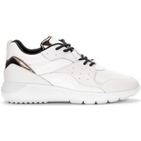 Shoes Men Low top trainers Hogan Interactive³ white and bronze sneaker White