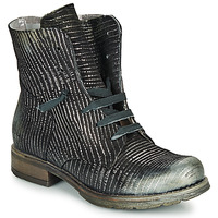 Shoes Women Mid boots Papucei MAURA BLACK SILVER Black