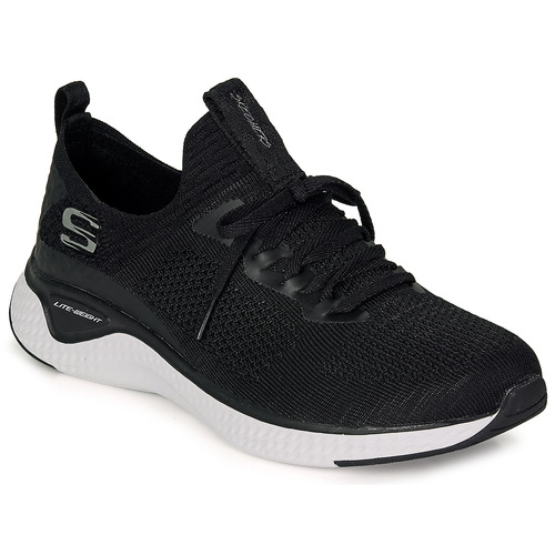 Shoes Women Low top trainers Skechers Solar Fuse  black