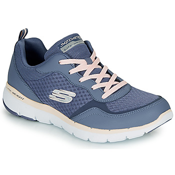 Shoes Women Low top trainers Skechers Flex Appeal 3.0 Blue