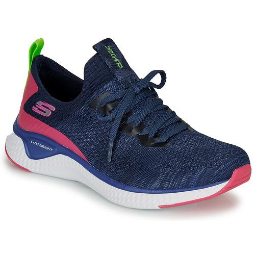 Shoes Women Low top trainers Skechers Solar Fuse Blue