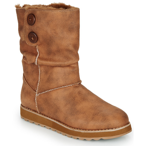 Shoes Women Mid boots Skechers KEEPSAKES 2.0 Camel