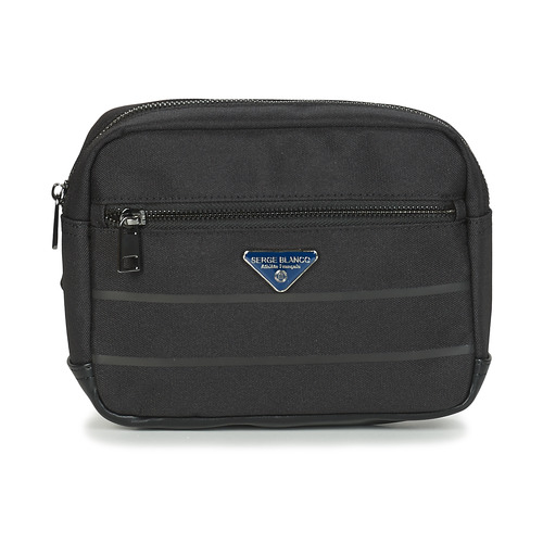 Bags Men Bumbags Serge Blanco GOLDEN EAGLE Black