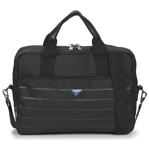 Bags Men Briefcases Serge Blanco GOLDEN EAGLE Black