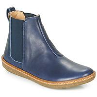 Shoes Women Mid boots El Naturalista CORAL Blue