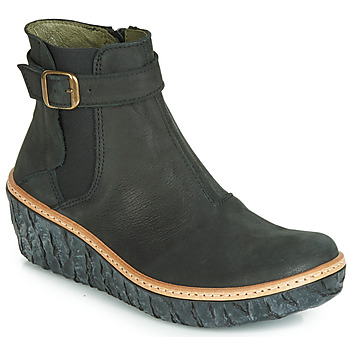 Shoes Women Ankle boots El Naturalista MYTH YGGDRASIL Black