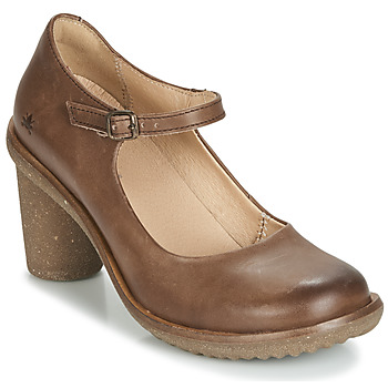 Shoes Women Heels El Naturalista TRIVIA Brown
