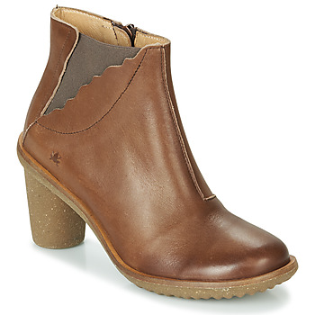 Shoes Women High boots El Naturalista TRIVIA Brown