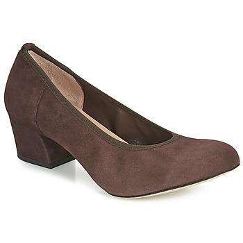Shoes Women Heels Perlato 10366-CAM-NUT Brown