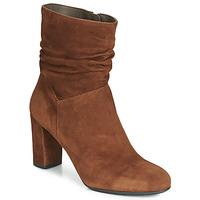 Shoes Women Ankle boots Perlato 11265-CAM-COGNAC Cognac