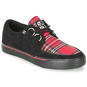 Shoes Low top trainers TUK CREEPER SNEAKERS Black / Tartan