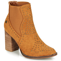 Shoes Women Ankle boots Xti AMELIO Camel