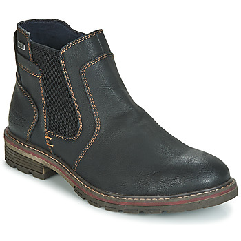 Shoes Men Mid boots Tom Tailor MARTY Black