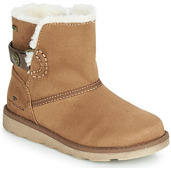 Shoes Girl Mid boots Tom Tailor 7020300-CAMEL Camel