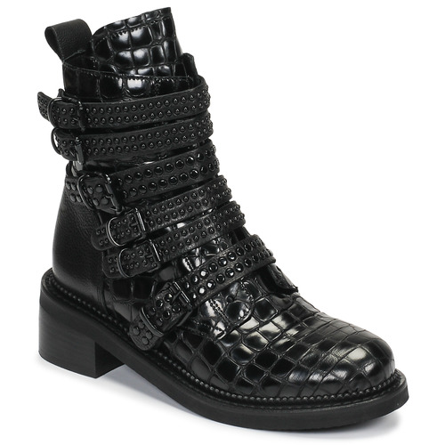 Shoes Women Mid boots Mimmu RIPTILUS Black