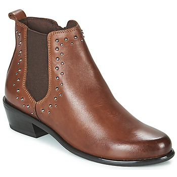 Shoes Women Mid boots Caprice ALICIA Cognac