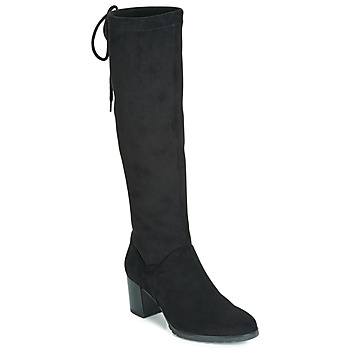 Shoes Women Thigh boots Caprice FILICIA Black