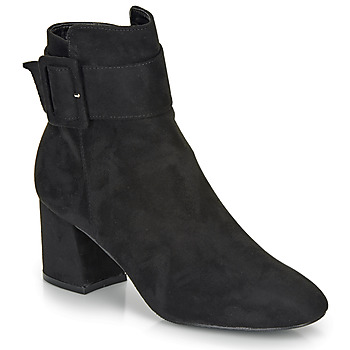 Shoes Women Ankle boots Moony Mood FAZIOLE Black