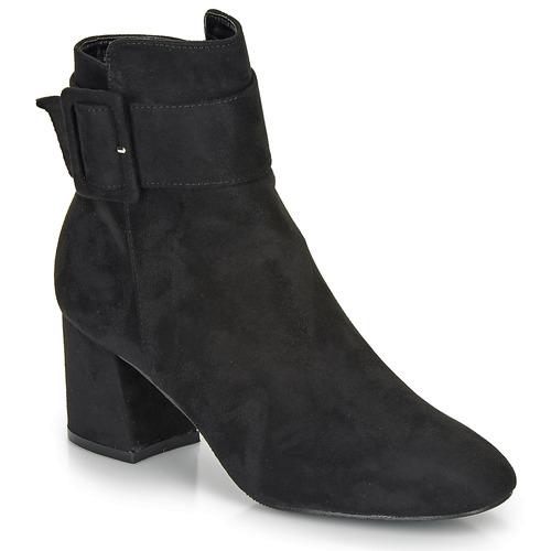 Shoes Women Ankle boots Moony Mood FAZIOLE Black