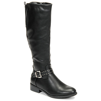 Shoes Women High boots Moony Mood FAMMINO Black