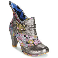 Shoes Women Ankle boots Irregular Choice MIAOW Silver