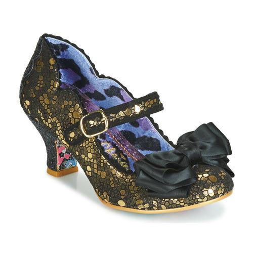 Shoes Women Heels Irregular Choice SUMMER BREEZE  black / Gold