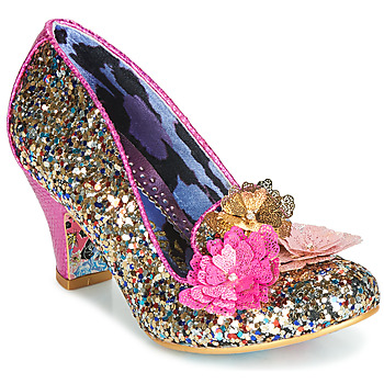 Shoes Women Heels Irregular Choice CARIAD Pink / Gold