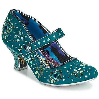 Shoes Women Heels Irregular Choice GLORY DAYS Blue