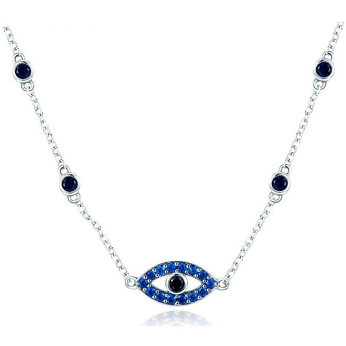 Watches & Jewellery  Women Necklaces Blue Pearls CRY C2033 J Multicolored