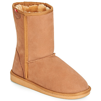 Shoes Women Mid boots Les Tropéziennes par M Belarbi MOUNTAIN Camel